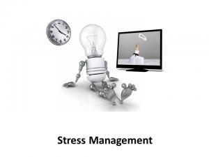 Online Leadership Training, Stress Management