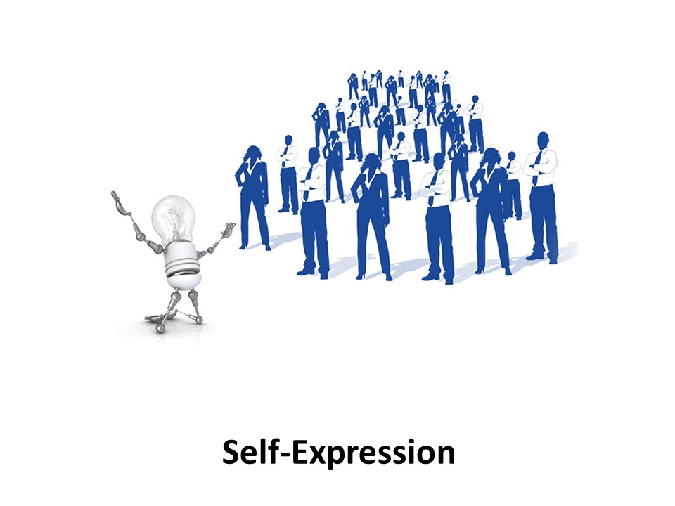 Online Leadership Training, Self-Expression