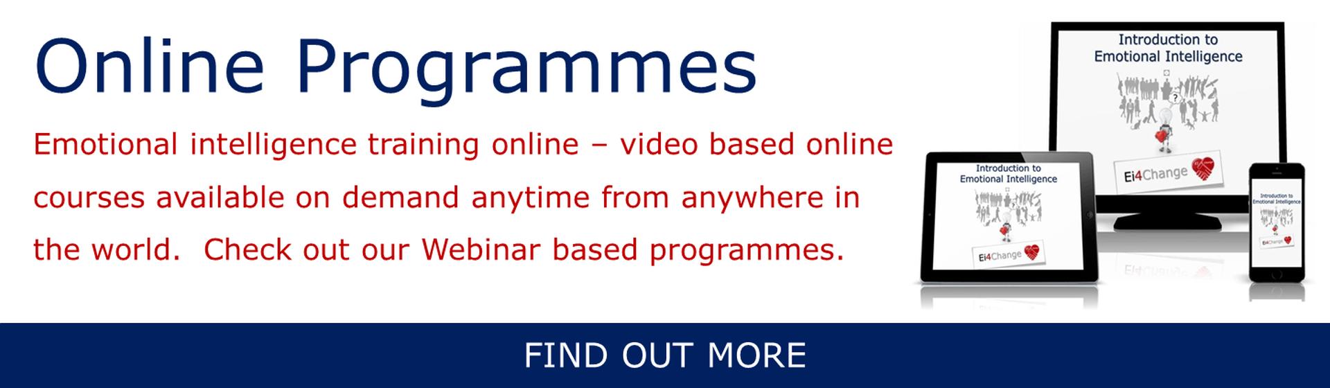 Online Programmes Banner