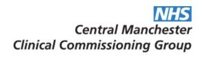 Central Manchester Clinical Commissioning Group