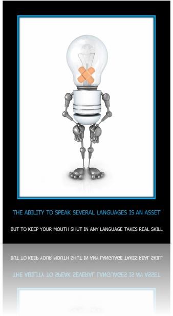 Ei4Change - Language Skill Poster