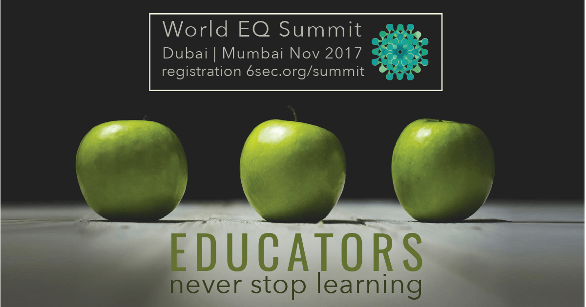 Educators at World EQ Summit